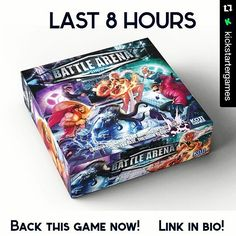 An awesome Virtual Reality pic! #Repost @kickstartergames  Battle Arena Show Returns by Koti games! Last 8 hours! Back it right now!  Fight and cooperate with your team to destroy the enemy base in this amazing miniatures board game inspired by PC MOBA games.  #boardgamesaddict #bgg #battlearena #battlearenashow #kotigames #gamers #mobagames #boardgamegeek #virtualreality #tabletopgames #videogames #tablegames #boardgames #kickstarter #backersworld #backthatproject #kickstarterlive…