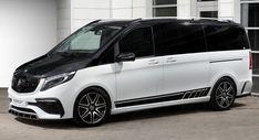 TopCar's Inferno Body Kit Makes Mercedes V-Class Look Hotter Mercedes Benz Vans, Mercedes Sprinter, Sprinter Van, Mercedes Van, Latest Bmw, Outdoor Survival Gear, Ford Puma, Lexus Es, Bmw M2