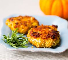 Toasty Pumpkin Chickpea Fritters