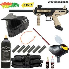 Tippmann Cronus Tactical Paintball Gun Mega Set