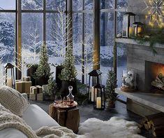 Un Noël traditionnel et doux - PLANETE DECO a homes world #decorationideas #deco #noel