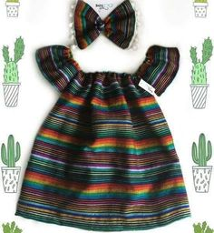 Ideas For Party Fashion Kids Fiesta Outfit, Mexican Outfit, Mexican Dresses, Mexican Baby Dress, Baby Outfits, Kids Outfits, Cute Baby Girl, Cute Babies, Baby Kids