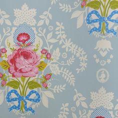 Eerily Reminscent Of The Wallpaper In My Teen Years Bedroom!