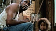 Still of Quvenzhané Wallis and Dwight Henry in Beasts of the Southern Wild