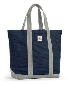 Indigo Denim Tote Bag