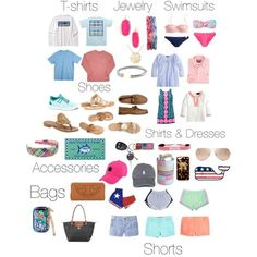 """Summer Prep Essentials."" by abbiebogar on Polyvore"