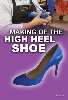 This video shoes the high heel shoemaking in depth - every detail from making the pattern to the final steps Make Your Own Shoes, How To Make Shoes, Women's Shoes, Buy Shoes, Tall Winter Boots, Equestrian Boots, Shoe Pattern, Ladies Of London, Fashion Boots