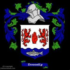 Donnelly coat of arms, family crest and Donnelly family history