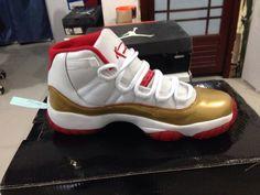 7e7e5fe536073d Perfect Air Jordan XI Two Rings Championship PE