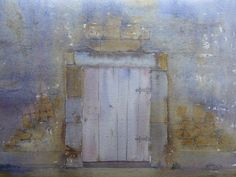 A doorway at castle gondolpho sicily