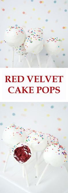 Red Velvet Cake Pops + some troubleshooting tips to help you along the way!
