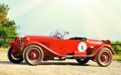 "1928 Alfa Romeo 6C 1500 Sport Spider ""Tre Posti"" Design By Zagato"
