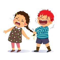Bus Cartoon, Happy Cartoon, Cartoon Kids, Girl Cartoon, Cartoon Art, Cut Paper Illustration, Boy Illustration, Art Drawings For Kids, Cartoon Drawings