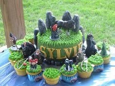 Disney Brave cake-  so far this is Ellie's fav.