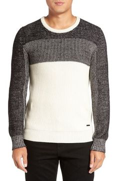 Burberry 'Risedale' Colorblock Sweater