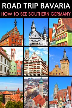 Planning a road trip in Germany? Bavaria makes the perfect road trip in Europe. Bavaria is full of half-timbered houses clad in flowers and majestic castles pieceing blue skies. My travel guide contains all the must see towns and cities in Bavaria, all the must see sites and landmarks in Bavaria, as well as the best castles in Germany. My 10 day Bavaria itinerary takes you from Munich to Nuremberg. Germany Travel | Europe Travel | Europe Road Trips | Munich Travel | Neuschwanstein Castle