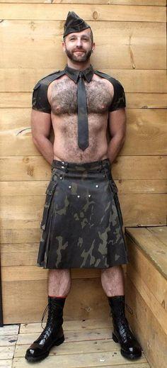 Leather semi-formal