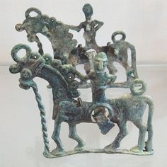 The Louvre, Luristan collection, horses' cheek pieces
