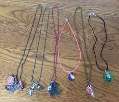 Necklaces made by my grandkids and one other kid. These could be made at a group craft event. Washer Necklace, Beaded Necklace, Necklaces, Operation Christmas Child, One And Other, Shoe Box, Kids Christmas, Grandkids, Charity