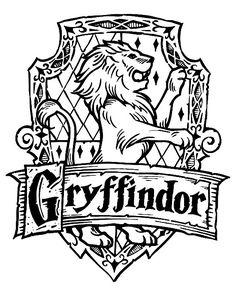 Harry Potter Hogwarts Gryffindor Crest DIY