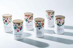 Illustrated Ingredient Branding : Grain Powder
