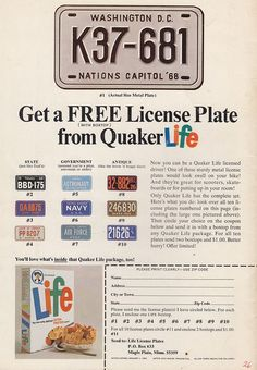 Vintage 1960'S Magazine Ads | Life Cereal Vintage 1960's Ad | Flickr - Photo Sharing!