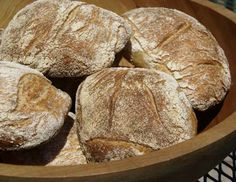 Sourdough Ciabatta Rolls (uses double-hydration technique and folding; starter, bread and WW flours, olive oil) [ETA: You can find a higher hydration variation here: http://www.thefreshloaf.com/node/22501/sourdough-ciabatta-rolls-no-kneading-all]