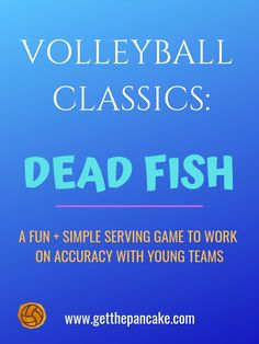 Fun Volleyball Serving Game for Beginners: Dead Fish! - Fun Volleyball Serving Game for Beginners: Dead Fish! Volleyball Serving Drills, Volleyball Drills For Beginners, Volleyball Serve, Volleyball Skills, Volleyball Practice, Volleyball Games, Volleyball Training, Volleyball Workouts, Volleyball Quotes