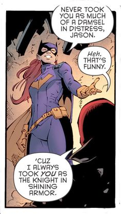 Batgirl and Red Hood aka Barbara Gordon and Jason Todd Dc Batgirl, Nightwing, Batwoman, Batgirl And Robin, Batgirl Cosplay, Batman Meme, I Am Batman, Batman Stuff, Barbara Gordon