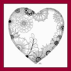 Heilzeichnen: Schönen Valentinstag