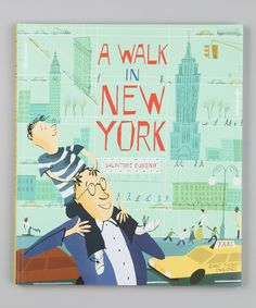 A Walk in New York, by Salvatore Rubbino. A wide-eyed boy and his dad explore the Big Apple's busy streets and towering views in this child-friendly tribute to an incomparable city. HC 9780763638559 / Preschool & up New York Taxi, New York City, Empire State, Apple Books, Penguin Random House, Barneys New York, Book Design, Cd Design, Childrens Books