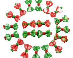 Yagopet Dog Hair Clips Christmas Styles Dog Hair Bows for Holidays Festival Dog Bows Pet Dog Grooming Bows Dog Hair Accessories * Details can be found by clicking on the image. (This is an affiliate link and I receive a commission for the sales) Dog Hair Bows, Ribbon Hair Bows, Dog Bows, Girl Hair Bows, Newborn Christmas, Christmas Bows, Christmas Fashion, Christmas Ornaments, Bow Hairband