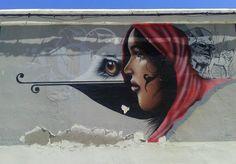 Mural en Cádiz.