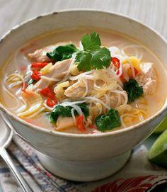 Chicken Laksa - a traditional malaysian dish