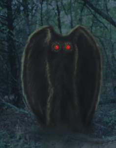 From the Cutting Room Floor - Mothman Weird Creatures, Fantasy Creatures, Mythical Creatures, Myths & Monsters, Cool Monsters, Legendary Monsters, Strange Beasts, Scream, Creature Drawings