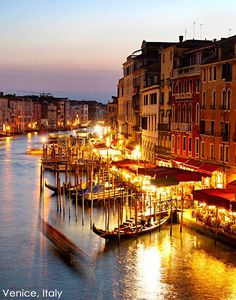 Are you ready to view the stunning sunsets over Venice, Italy?