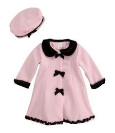 Starting Out Infant Velvet Coat & Hat Set $24.99  Dillards
