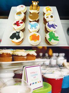 fondant-cupcake-toppers    http://blog.hwtm.com/2012/09/beary-cute-brown-bear-party/