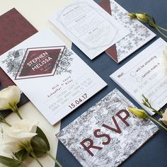 Browse, personalise and order wedding invitations online with stationery created in collaboration with the best Australian & International designers. Casual Wedding Invitations, Mountain Wedding Invitations, Glitter Wedding Invitations, Botanical Wedding Invitations, Wedding Invitation Inspiration, Engagement Invitations, Wedding Stationary, Wedding Invitation Cards, Wedding Programs