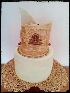 η πίσω πλευρά της τούρτας #σοκολατένια #τούρτα_γενεθλίων #ζυγός #ζαχαρόπαστα #chocolate #birhtdaycake #libra #byron_dragees #κουφέτα_βύρων #zodiac_cake