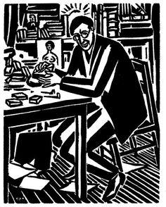 La fascinación de Thomas Mann por la obra de Frans Masereel