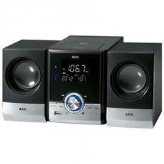 Disfruta de la mejor música con esta minicadena AEG MC4461 CD/MP3/USB/BT de color negro a un magnífico precio en #Crilanda