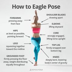The Holistic Benefits of Eagle Pose – Yoga Club Fitness Workouts, Yoga Fitness, Asana, Yoga Flow, Yoga Routine, Yoga Sequences, Best Yoga, Yoga For Beginners, Yoga Teacher