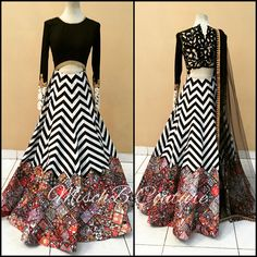Clash of Prints by MischB Couture