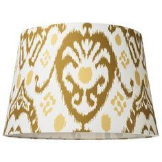 Lamp Shades At Target Threshold™ Blue Ikat Print Lampshade $2299 Target  Lighting Love