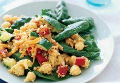 Aunque seas de las que no le entusiasman las comidas con puros vegetales, dale una oportunidad a esta ensalada.