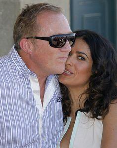 bc9786cd3 13 Desirable Salma Hayek   Francois-Henri Pinault Kissing ...