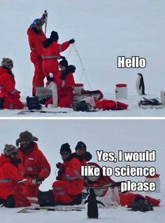 i really need to come up with a study that requires antarctic sample collection ...