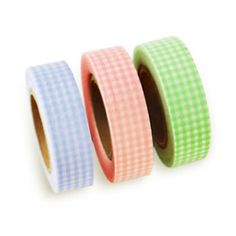 Gingham Check Washi Tape $6.00
