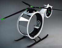 Koncept helicoptera przyszłości.